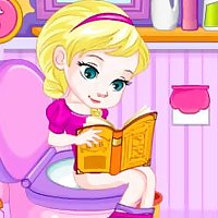 Potty Train Baby Elsa